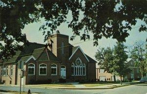 Postcard St John's Methodist Church Seaford Delaware