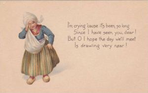 Dutch girl crying, Poem, 00-10s