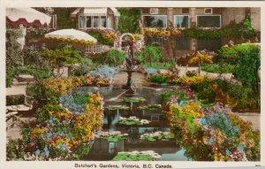RP; VICTORIA, British Columbia, 1930-50s ;  Butchart Gardens