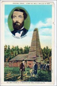 Original Drake, 1st oil Field, Titusville PA