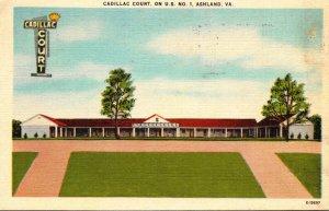 Virginia Ashland The Cadillac Court 1953