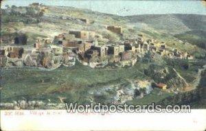 Village de Siloe, Siloah Dori Siloa, Israel 1912