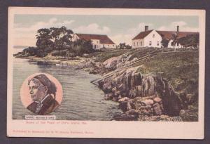 Harriet Beecher Stowe's Home On Orr's Island, Maine - Unused