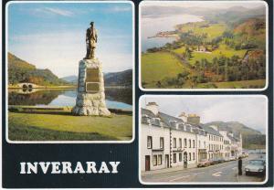Post Card Scotland Argyll and Bute Inveraray 3 views