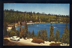 Lake Tahoe, California/CA Postcard, Meeks Bay From Highway,
