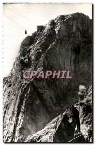 Old Postcard Chamonix Le Brevent and wall & # 39arrivee of Teleferique