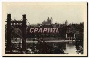 Postcard Old Praha Stefanikuv Most
