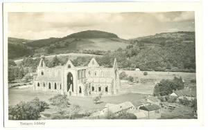 United Kingdom, Tintern Abbey, unused real photo Postcard