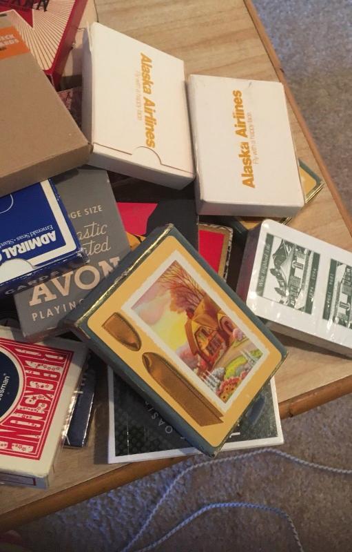 Playing Cards:Lot of 75 Decks of assorted; Casino, Transportation, Souvenir