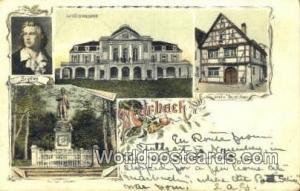 Marbach Germany, Deutschland Postcard Schiller Geburtshaus Marbach Schiller G...