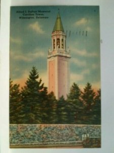 Alfred L Dupont Memorial Carillon Tower Wilmington Delaware posted 1944