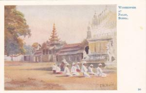 Worshippers at Pagan , Burma , 00-10s
