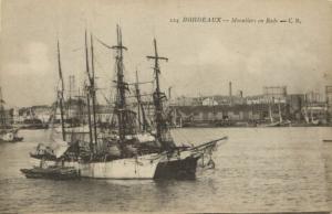 CPA BORDEAUX - Moruliers en Rade (140216)