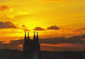 Skipton Sunset Award Photography Competition Winner Postcard