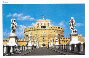 Rome,  St Angelo Castle.   Unused