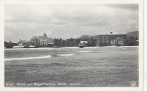 RP: HONOLULU , Hawaii , 1930-40s ; Moana & Royal Hawaiian Hotels