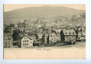 191941 GERMANY Aue i. Erzgeb view Vintage Hoffmann postcard