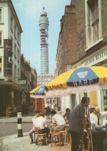 Anemos Greek Restaurant London Denmark Street Pub 1970s Postcard