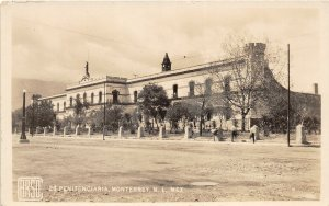 F55/ Monterrey N.L. Mexico Foreign RPPC Postcard c30s Penintentiary  5