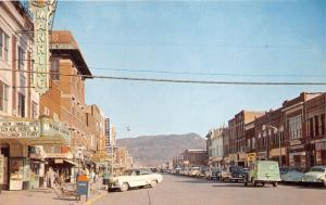 Middlesboro Kentucky~Street Scene~Manring Theatre (Teenage Rebel 1956)~Stores~Pc
