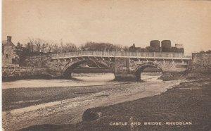 RHUDDLAN , Wales , 1900-10s ; Castle & bridge