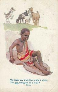 Boy & Goats , Africa , 00-10s