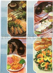 152470 Fish Dishes Recipe COMPLETE Set 22 old cards RUSSIAN