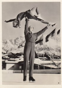 RP: Russian Ice skating Couple , 1963