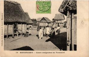 CPA Mananjary. Cases malgaches au Tanambé. MADAGASCAR (626024)