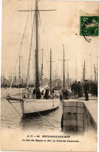 CPA BOULOGNE-sur-MER - Le Jour des Régates en Mer (240060)
