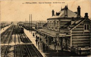 CPA Ivry sur Seine - Garedu Chevaleret (275511)