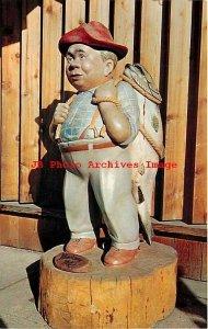 ID, Bonners Ferry, Idaho, I Was Born A White Pine Statue, Dexter Press No 8156B
