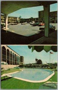 Washington DC Postcard HOLIDAY INN MOTEL Arlington I-95 Roadside c1960s Unused