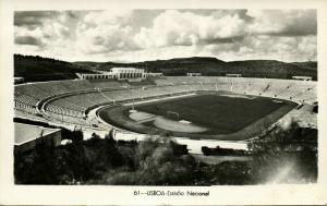 portugal, LISBON LISBOA, Estadio Nacional (1950s) Stadium Postcard RPPC (2)
