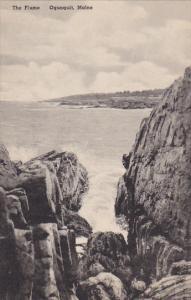 The Flume Ogunquit Maine Albertype