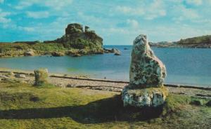 Sir Cloudesley Shovells Grave at Porthellick Bay St Marys Scilly Postcard