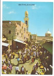 Bethlehem Market Place Israel 1970  4X6