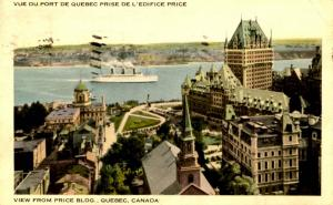 Canada - Quebec, Quebec City. View from Price Building