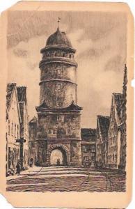Nordlingen.  Lopsinger Tor.