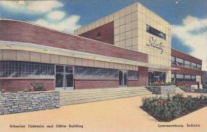 Indiana Lawrenceburg Schenley Cafeteria & Office Building