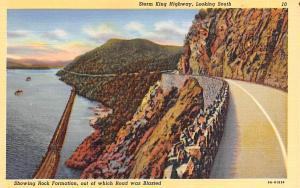 Storm King Highway New York Postcard