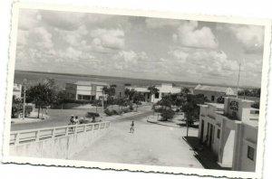 PC CPA MOZAMBIQUE, PORT AMELUN, Vintage REAL PHOTO Postcard (b26743)
