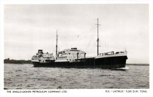 15275   M.S.Latirus  Anglo-Saxon Petroleum Co.LTD.  real photo