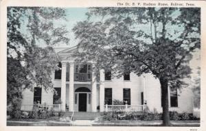 BOLIVAR , Tennessee, 1910-30s ; Dr. B. V. Hudson Home