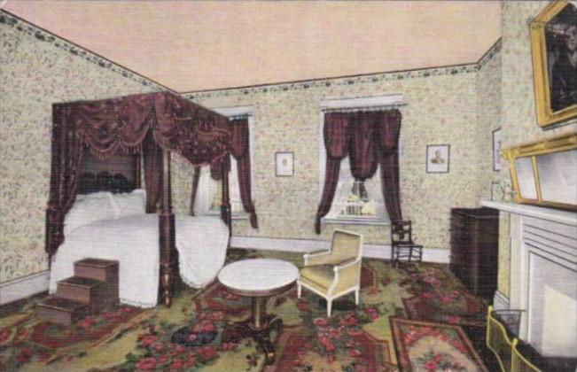 Tennessee Nashville Lafayette's Bedroom The Hermitage Home Of General Andrew ...