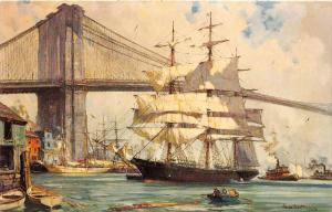 The Seamen's Bank for Savings NY Square Rigger Great Admiral