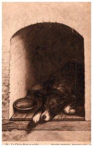 Dog , Le Chien dans sa niche