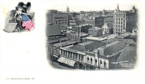 16574  Aerial View of St.Joseph MO looking north west from Post office