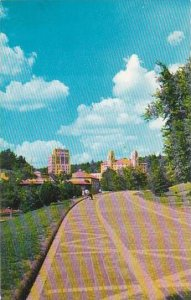 Arkansas Hot Springs National Park The Promenade Which Runs The Entire Length...