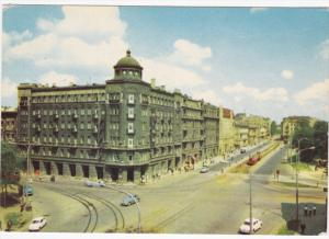 Aerial View, Lewej Hotel, LODZ, Poland, 50-70's